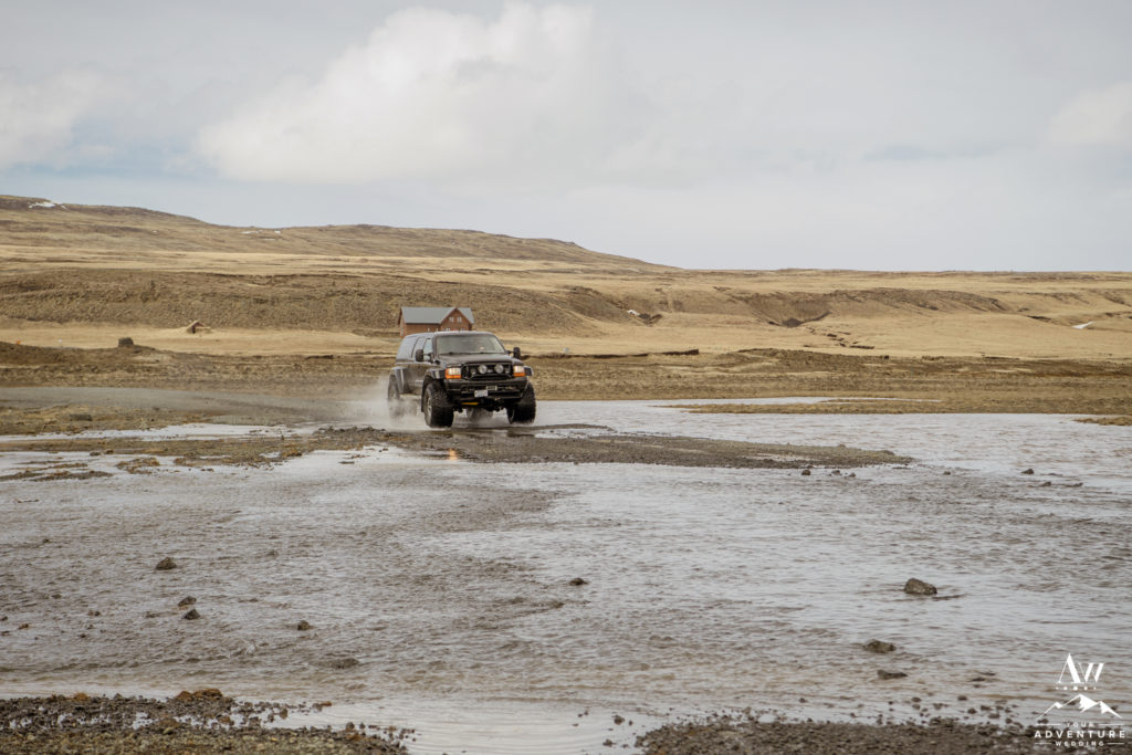 Iceland Super Jeep Wedding Ford Excursion