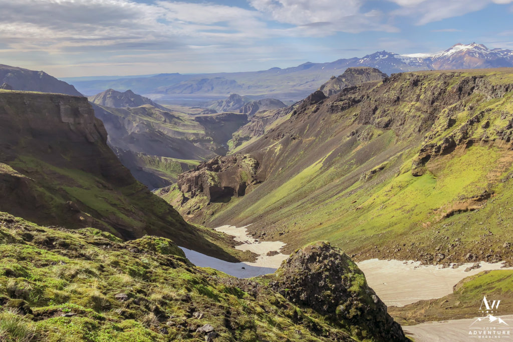 July Hiking in Iceland Fimmvorduhals Hike