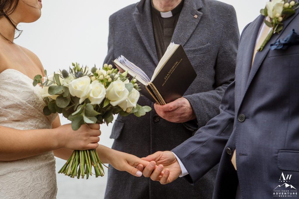Iceland Wedding Ceremony Location Pastor Book