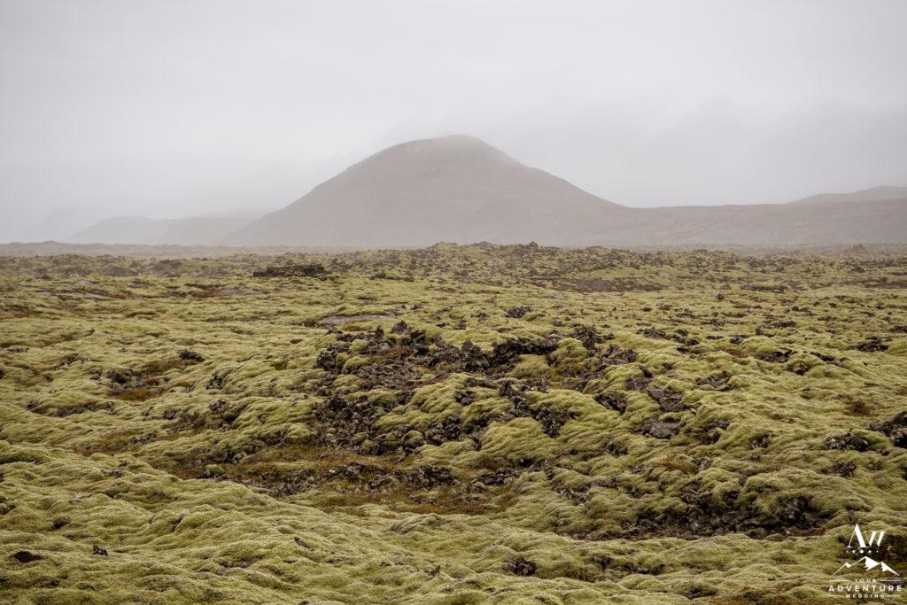 Iceland Adventure Wedding Location Moss Field