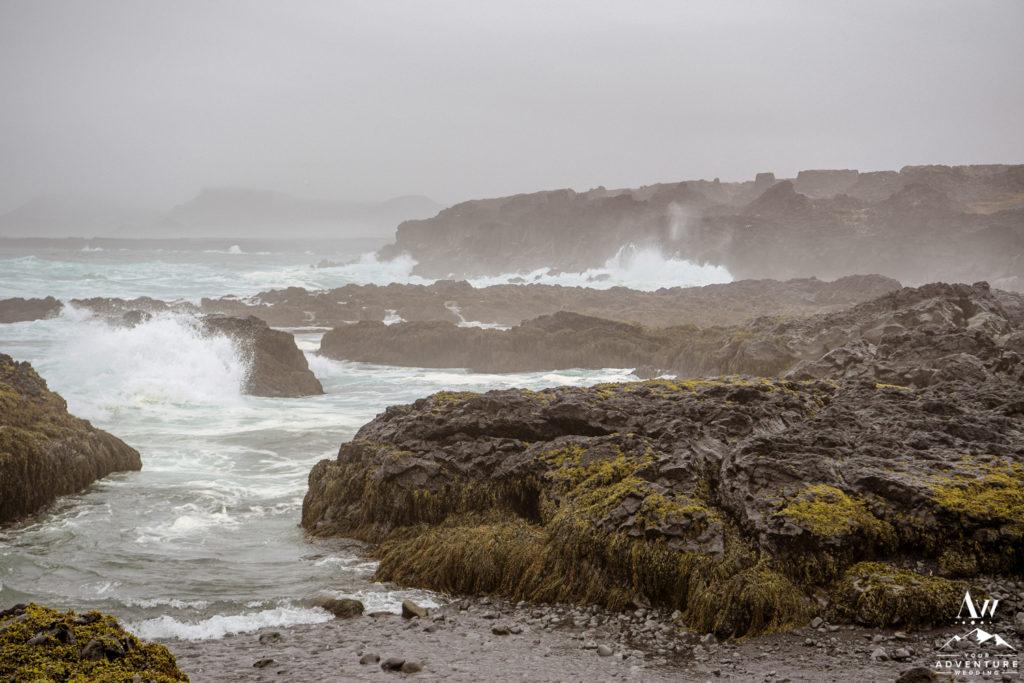 Private Iceland Wedding Black Beach Location