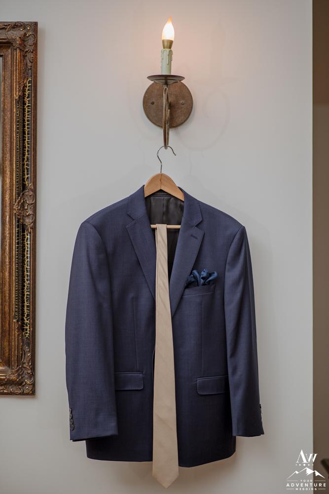 Groom Suit before Iceland Wedding Adventure