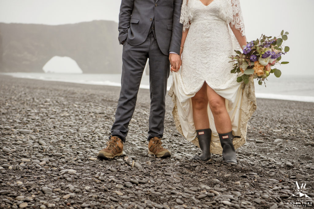 Iceland Wedding Attire and Boots