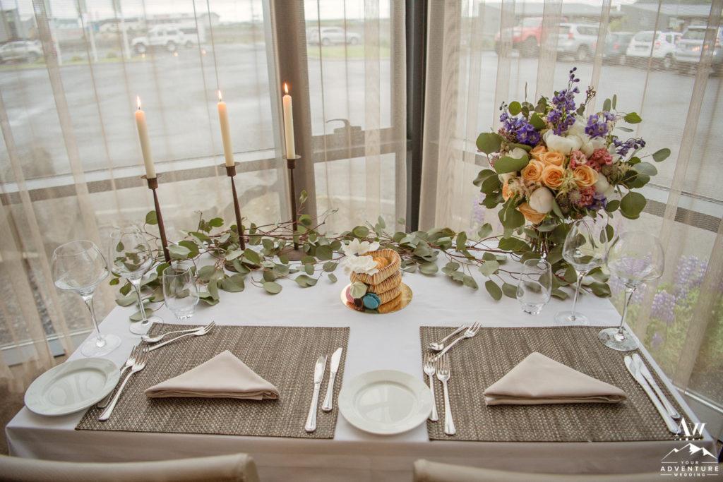 Icelandair Vik Iceland Elopement Ceremony Setup