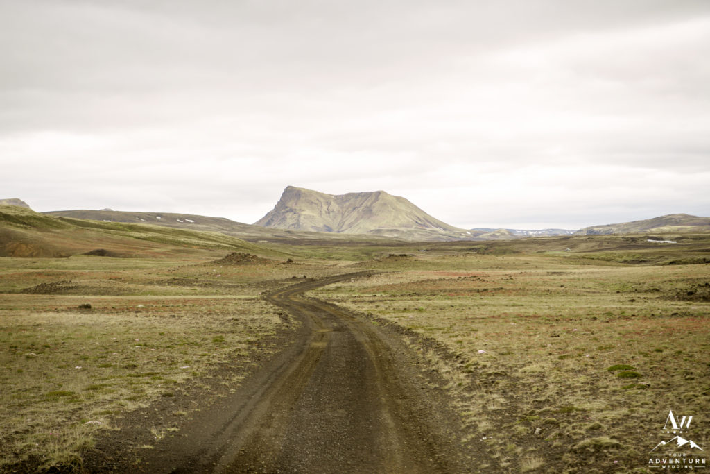 Iceland Highland Wedding Location F-Road