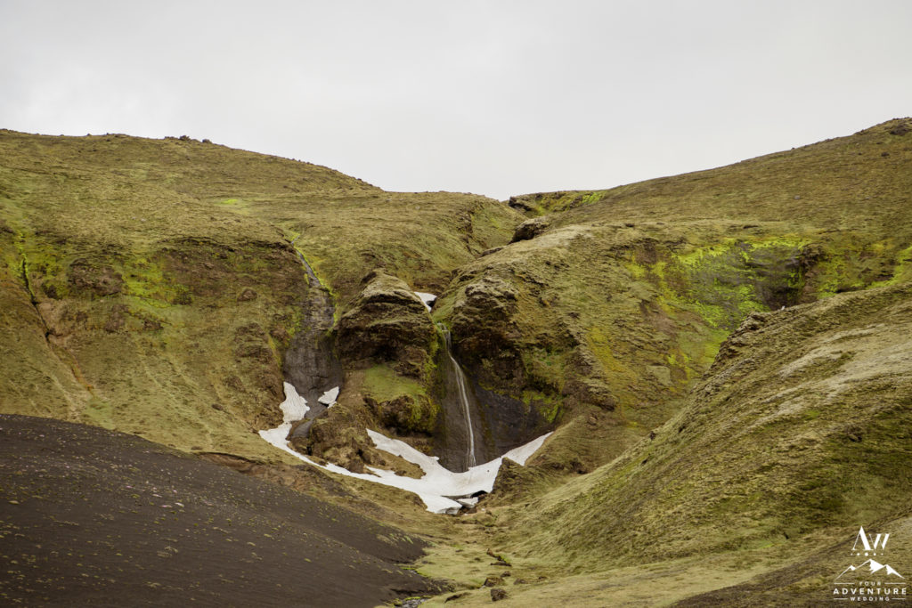 Icelandic Highland Wedding Location Secret Waterfall