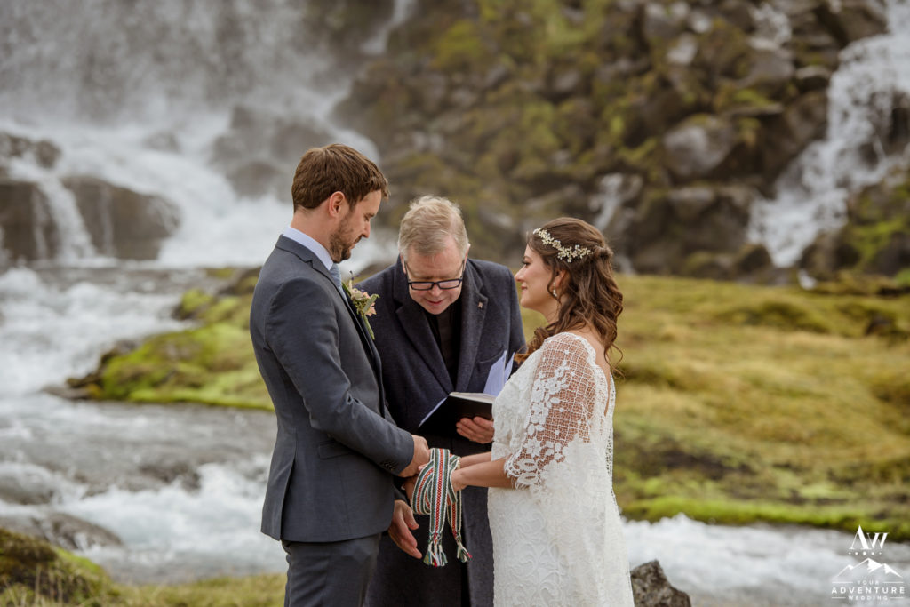 Iceland Wedding Ceremony Unity Ceremony