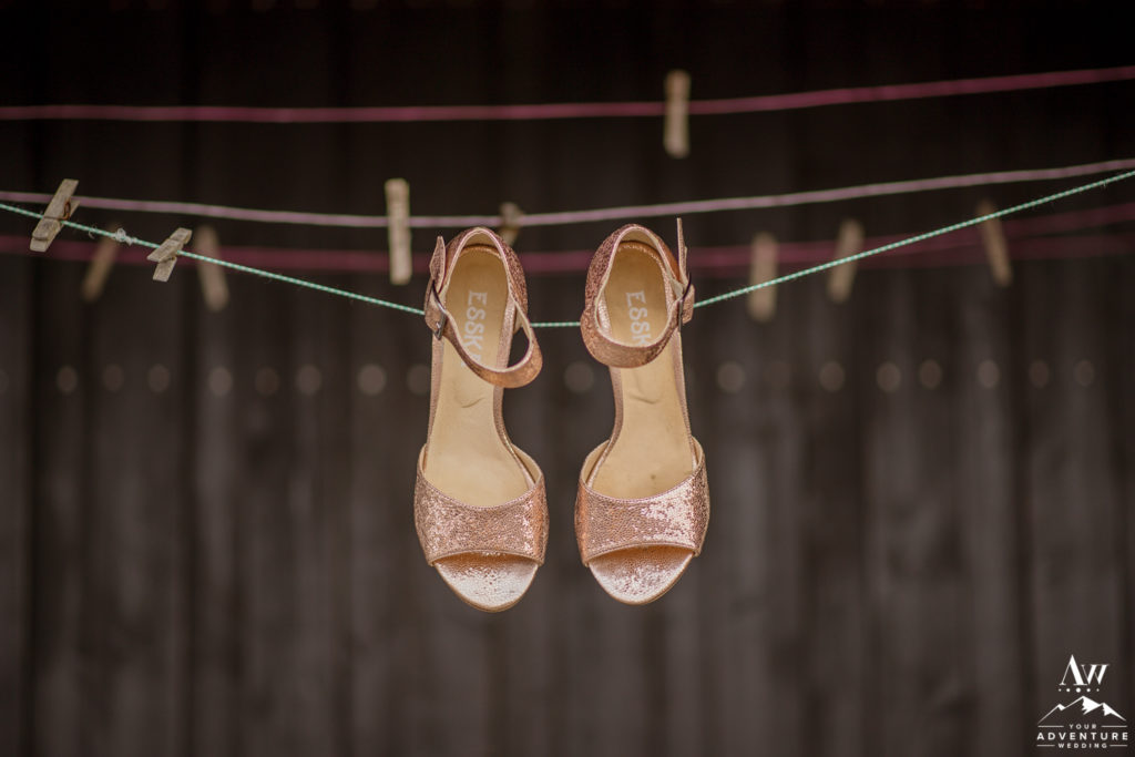 Iceland Wedding Heels for Brides Reception