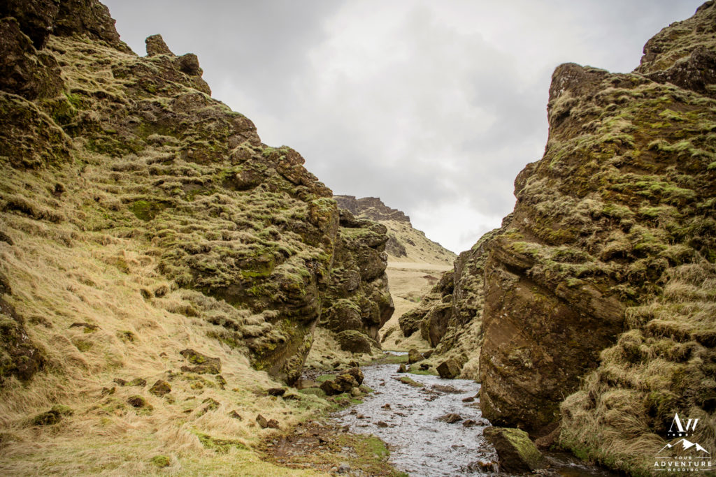 Private Super Green Canyon in Iceland