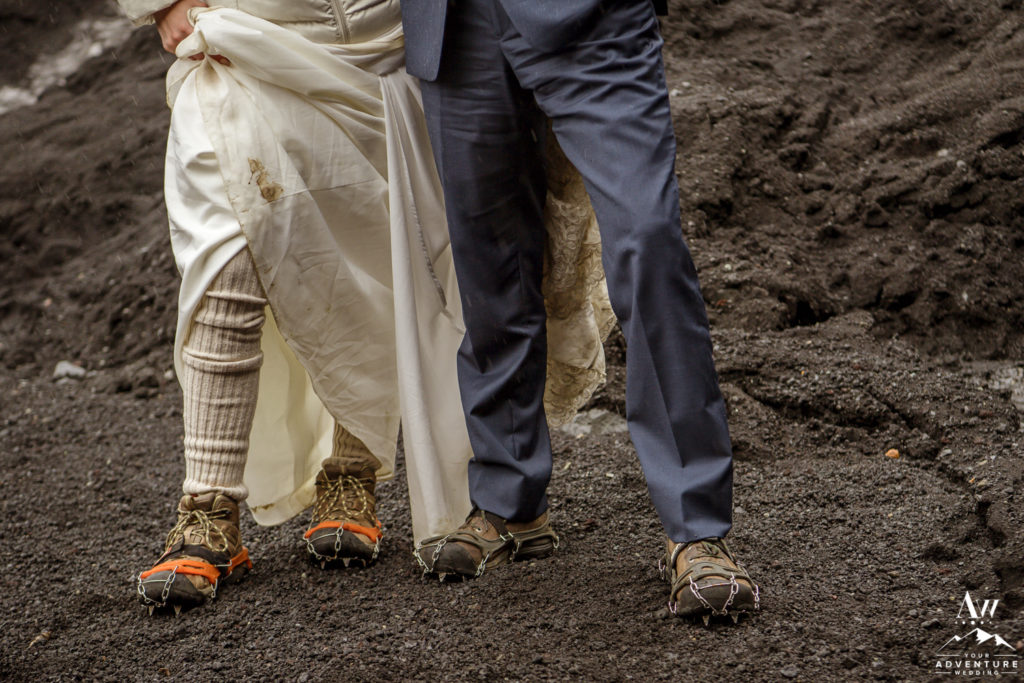 Adventure Wedding Shoes with Crampons