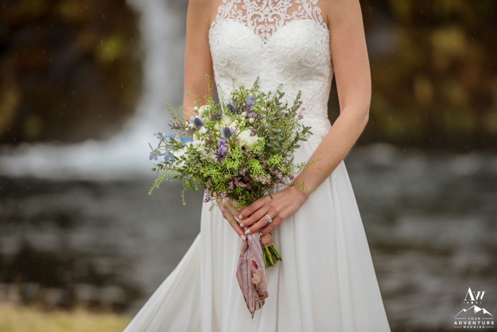 Iceland Wedding Bridal Bouquet