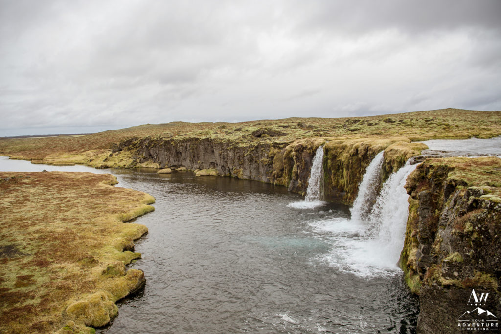 Private Waterfall Wedding Location in Iceland