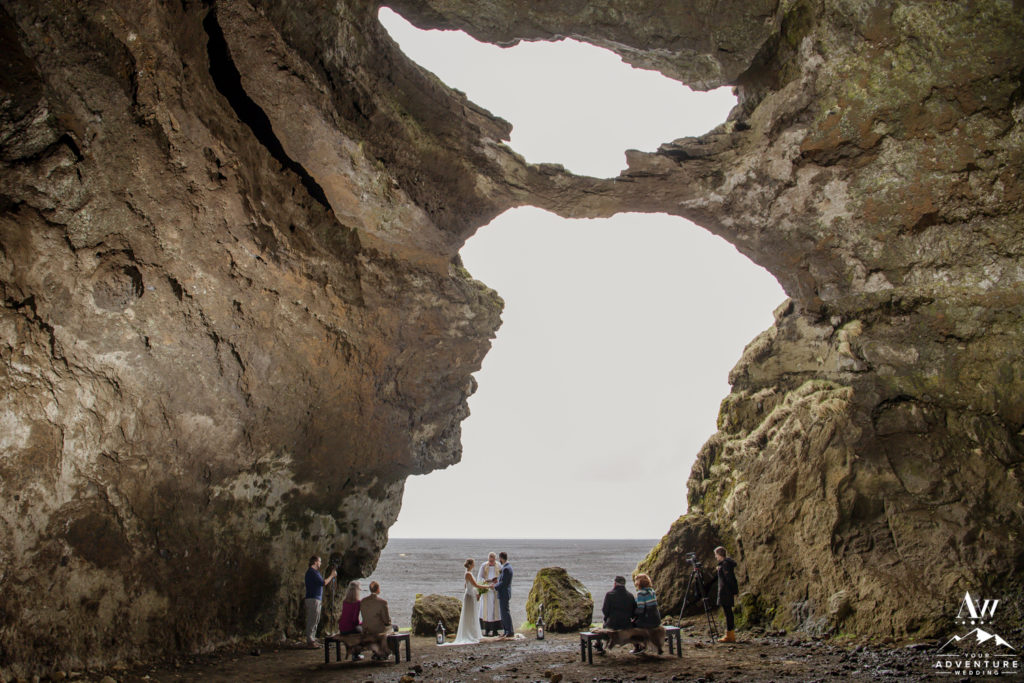 Iceland Cave Wedding Ceremony