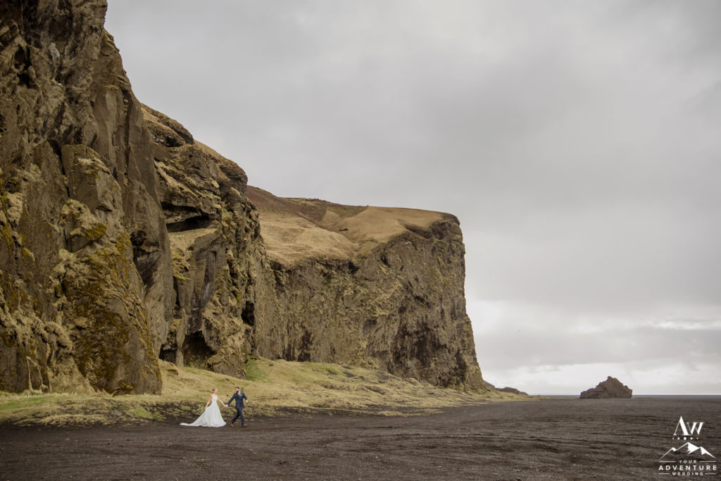 Iceland Mountain Wedding Photos