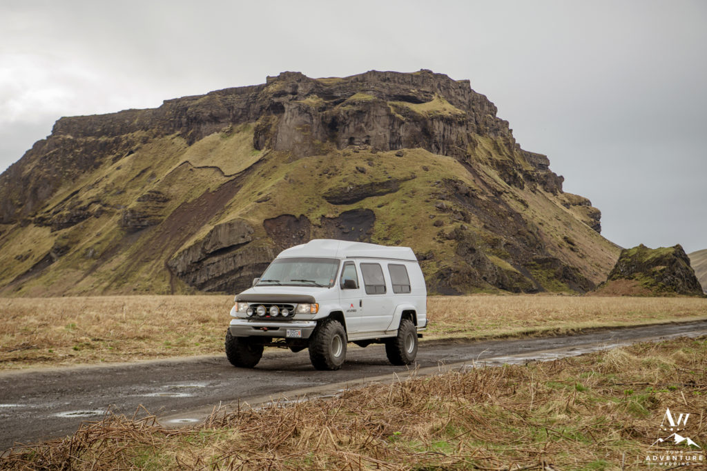 Iceland Wedding Super Jeep Wedding
