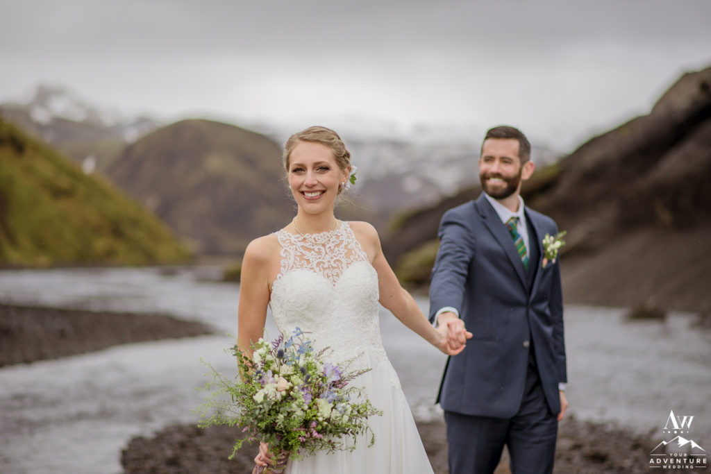 Jacalyn and Michael's Iceland Wedding Day