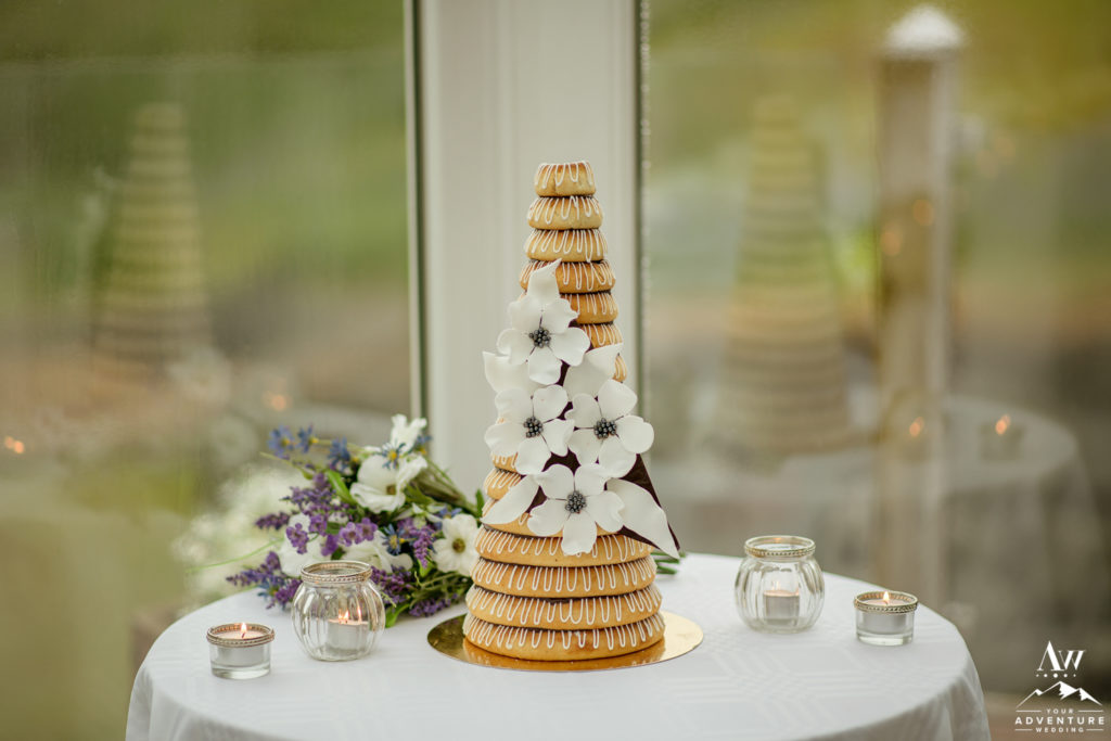 Iceland Wedding Cake by Joi Fel