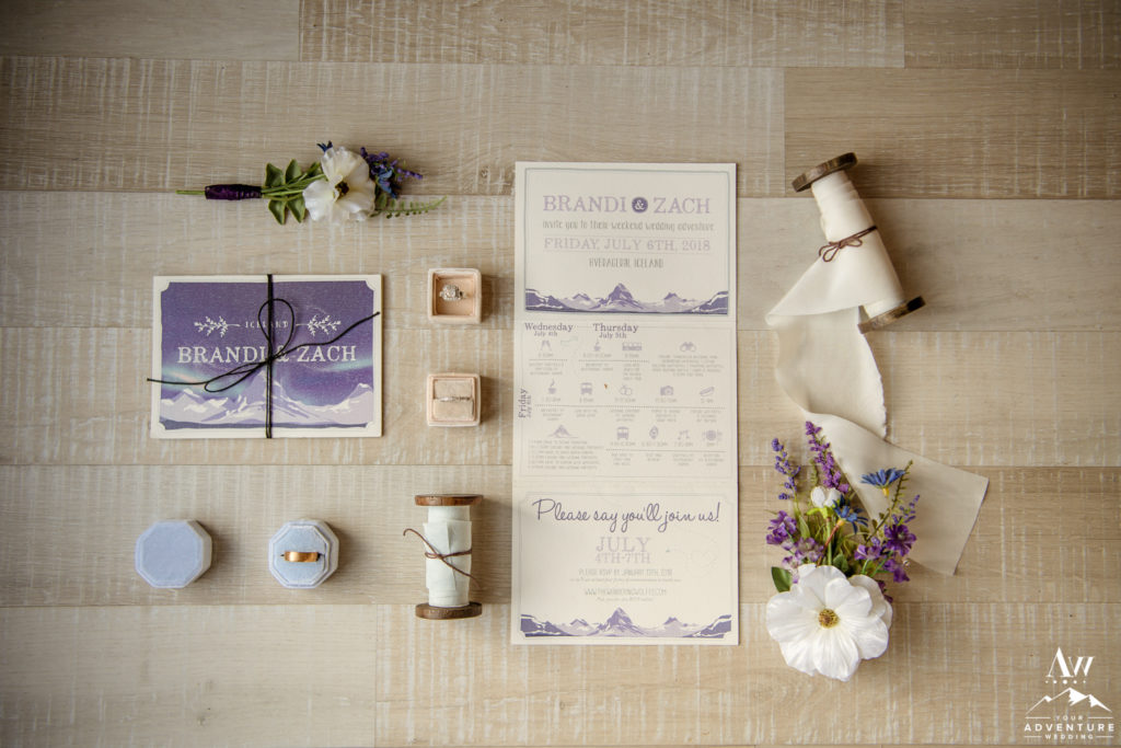 Iceland Adventure Wedding Invitation