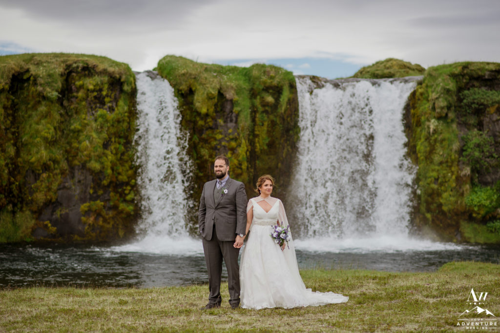 Dramatic Iceland Wedding Portraits