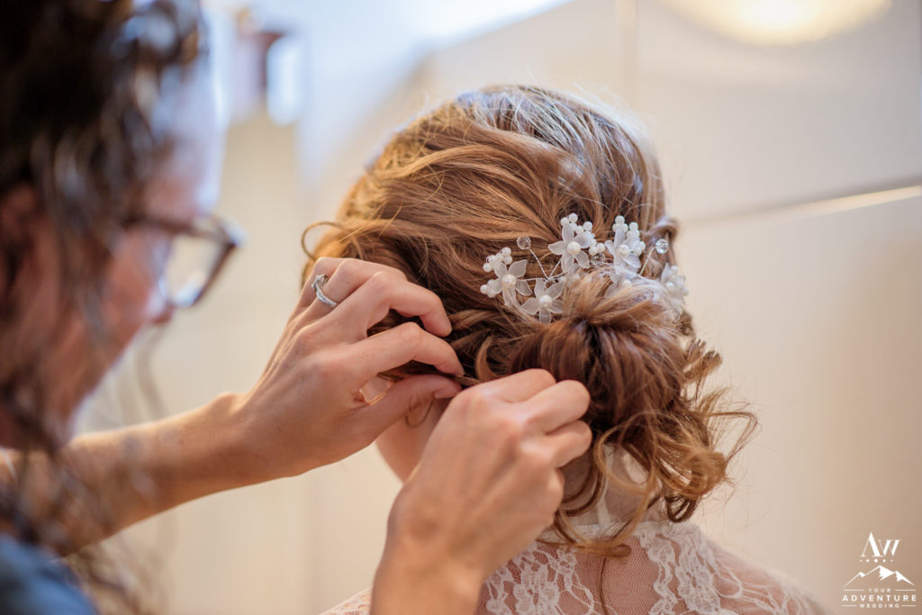 Iceland Wedding Bridal Hair Stylist