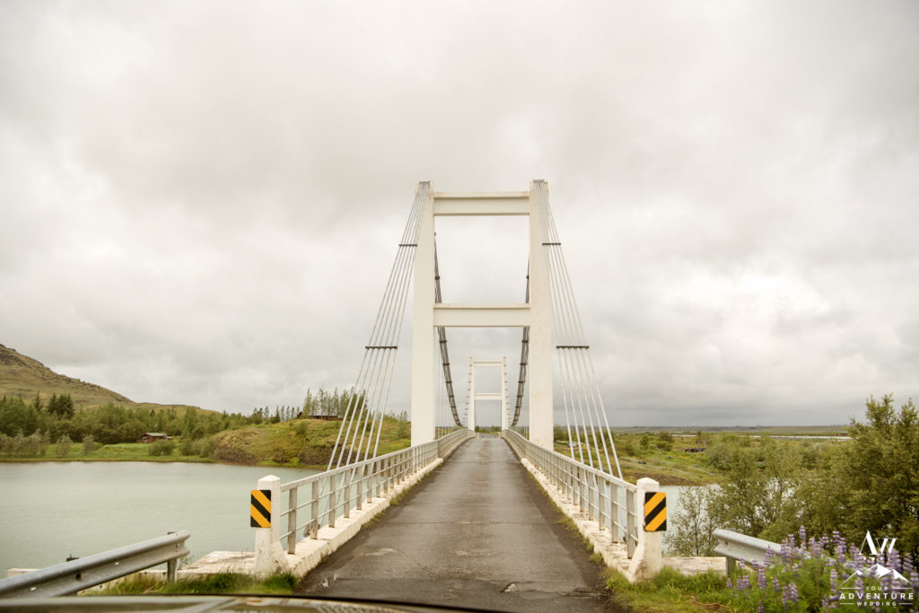 Iceland Adventure Wedding Bridge in Iceland