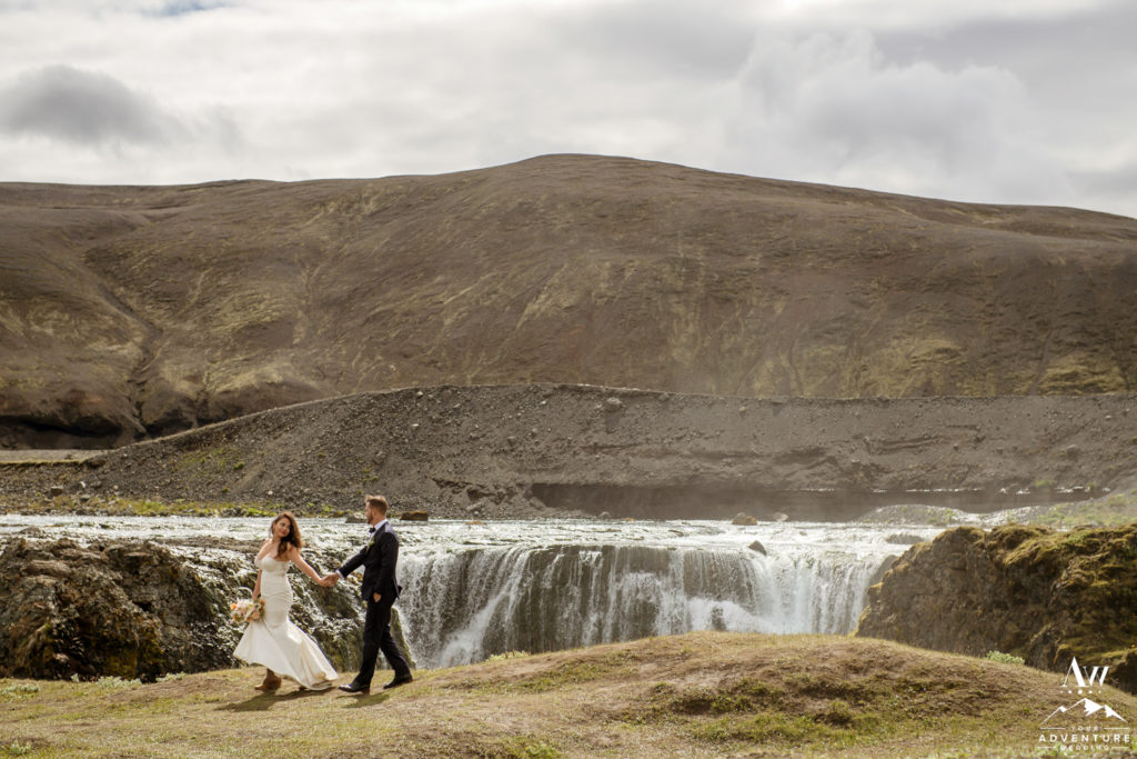 Adventurous Wedding Couple in Iceland