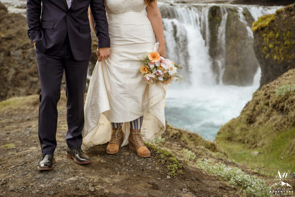 Iceland Adventure Wedding Shoes