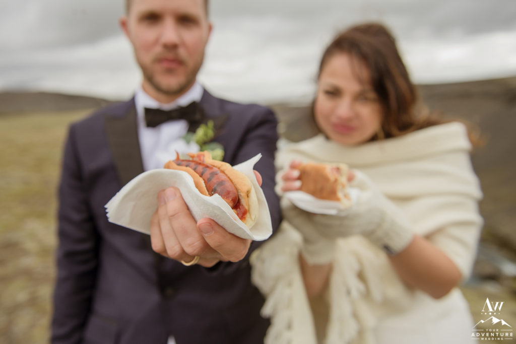 Iceland Wedding Lunch Traditional Hot Dog BBQ