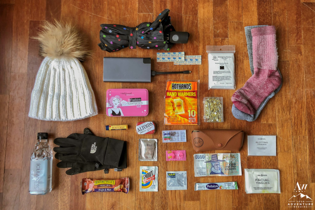 What to pack in your Iceland wedding go bag