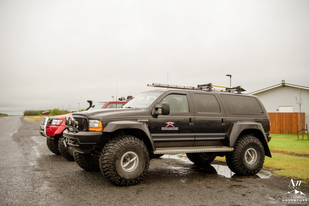 Iceland Super Jeep Wedding Katlatrack