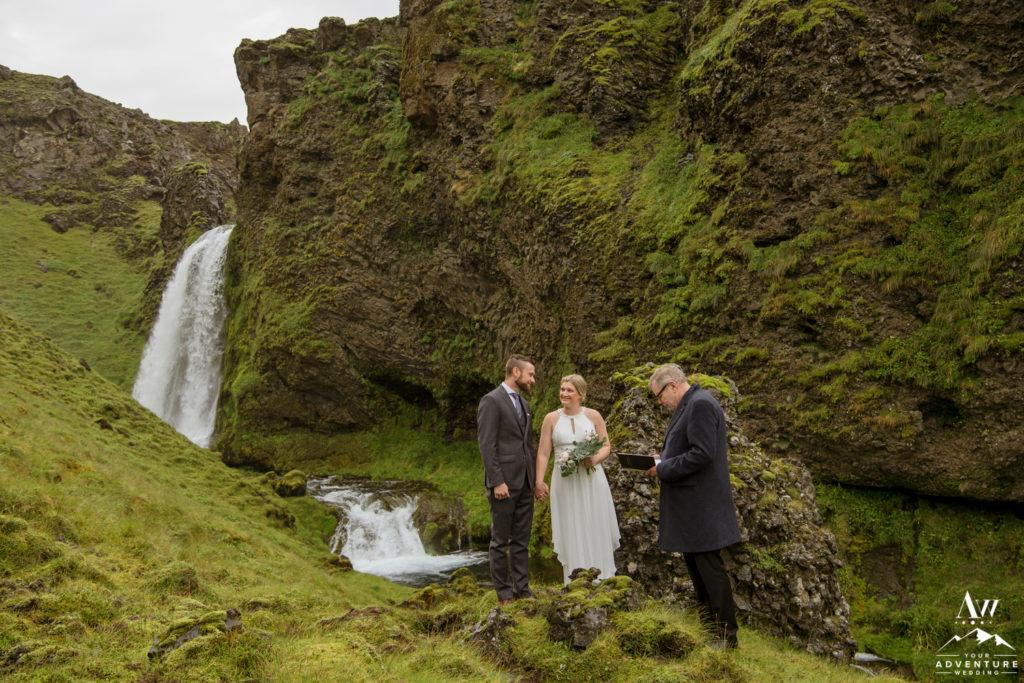 Sarah and Landan's Hiking Elopement in Iceland