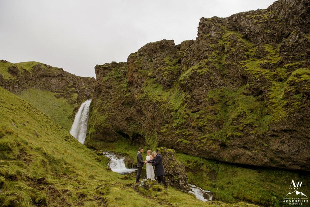 Iceland Wedding Ceremony Location Hiking Elopement