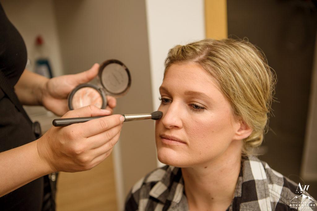 Iceland Elopement Makeup Artist