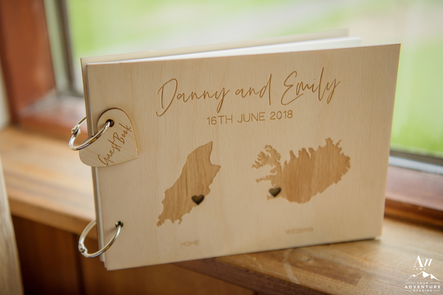 Iceland Wedding Guest Book