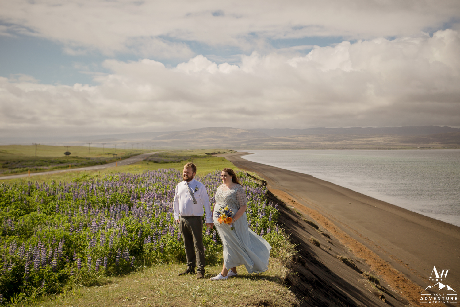 Dramatic Iceland Wedding Photos