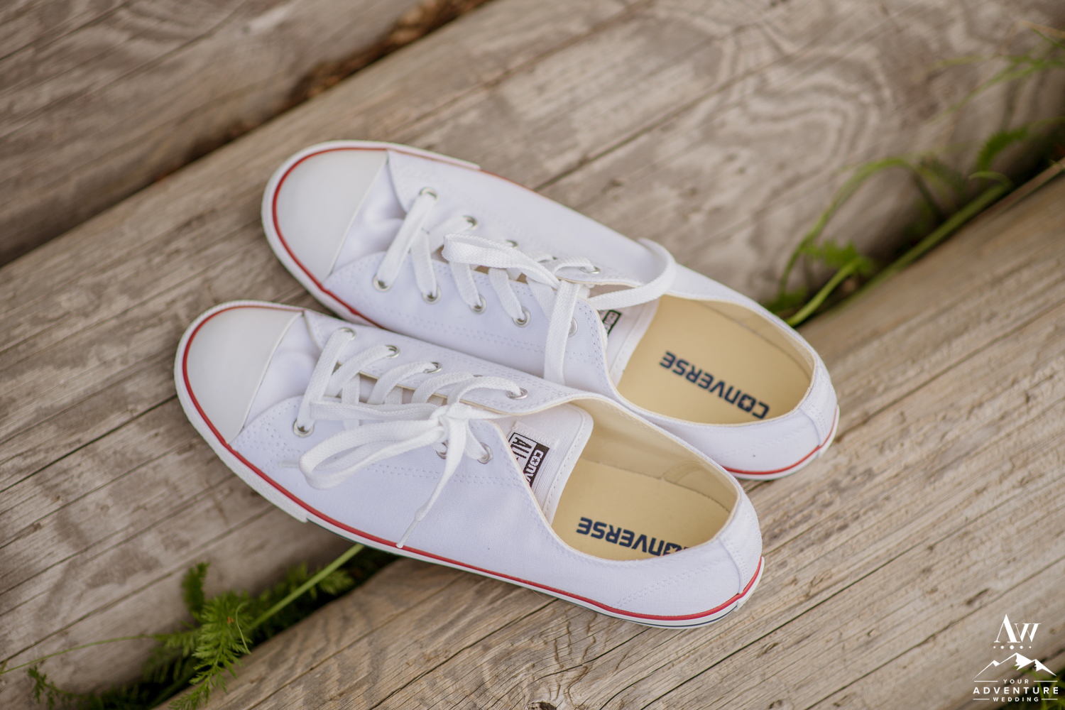 Converse Tennis Shoes for Iceland Adventure Wedding