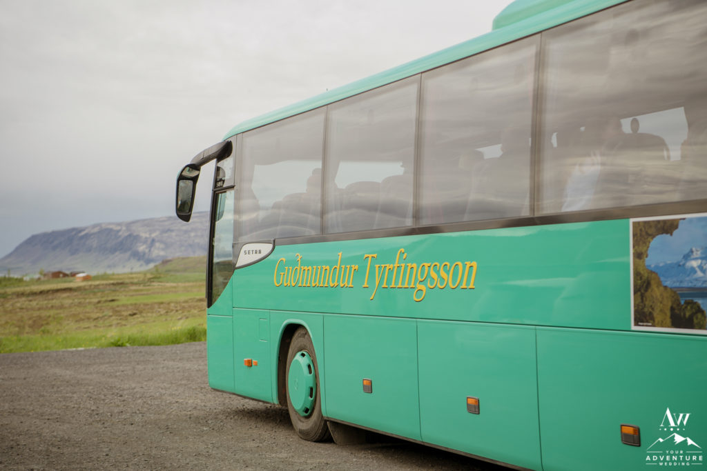 Iceland Bus Wedding Adventure