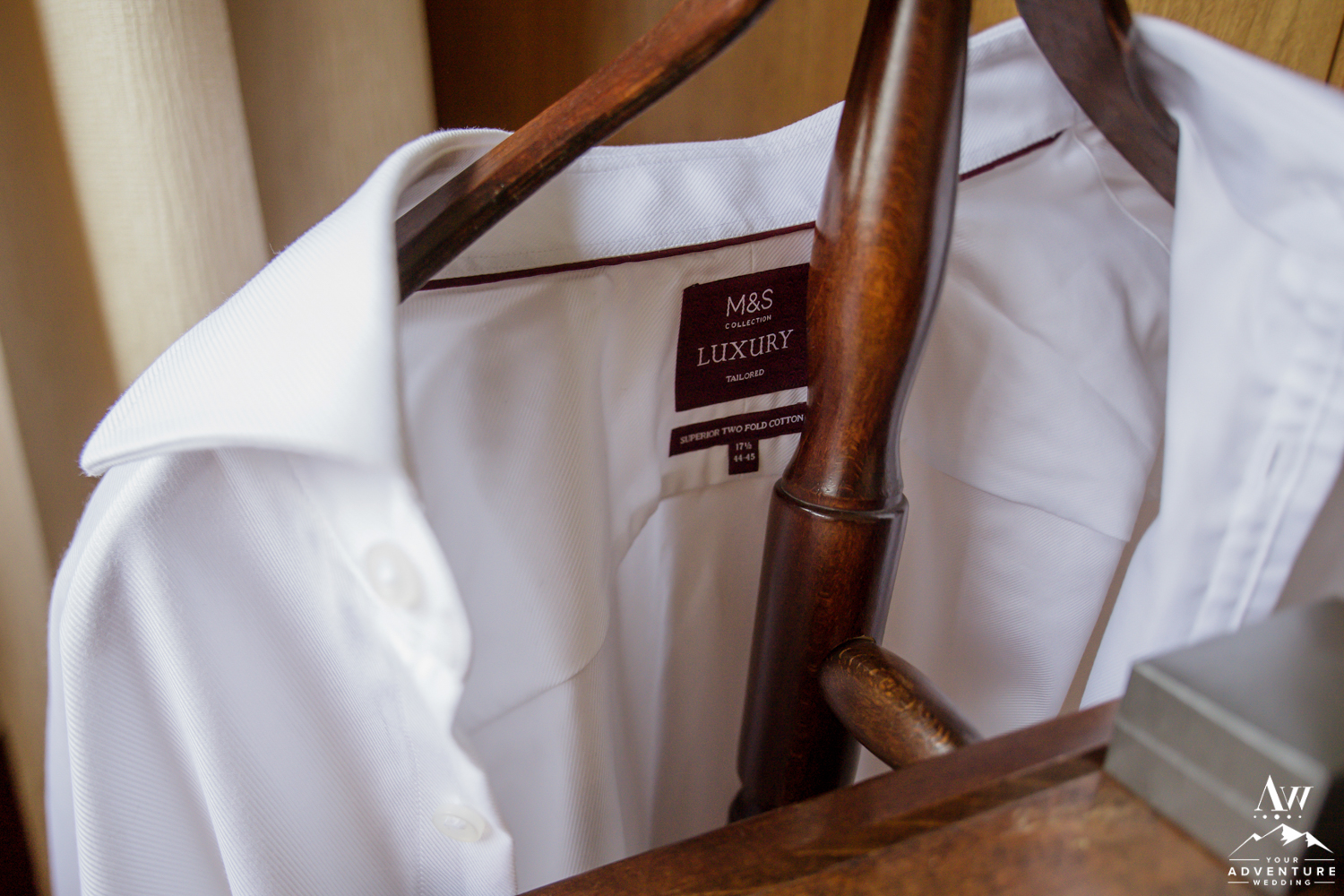 Iceland Wedding Groom White Shirt
