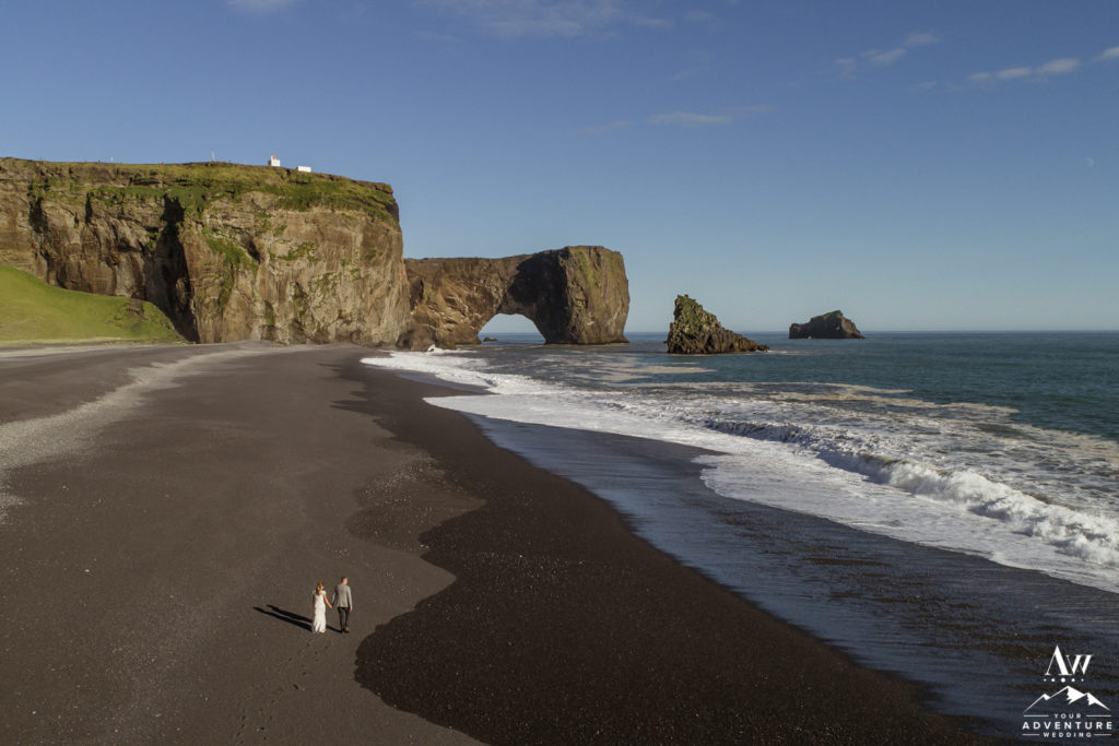 Southern Iceland Adventurous August Elopement
