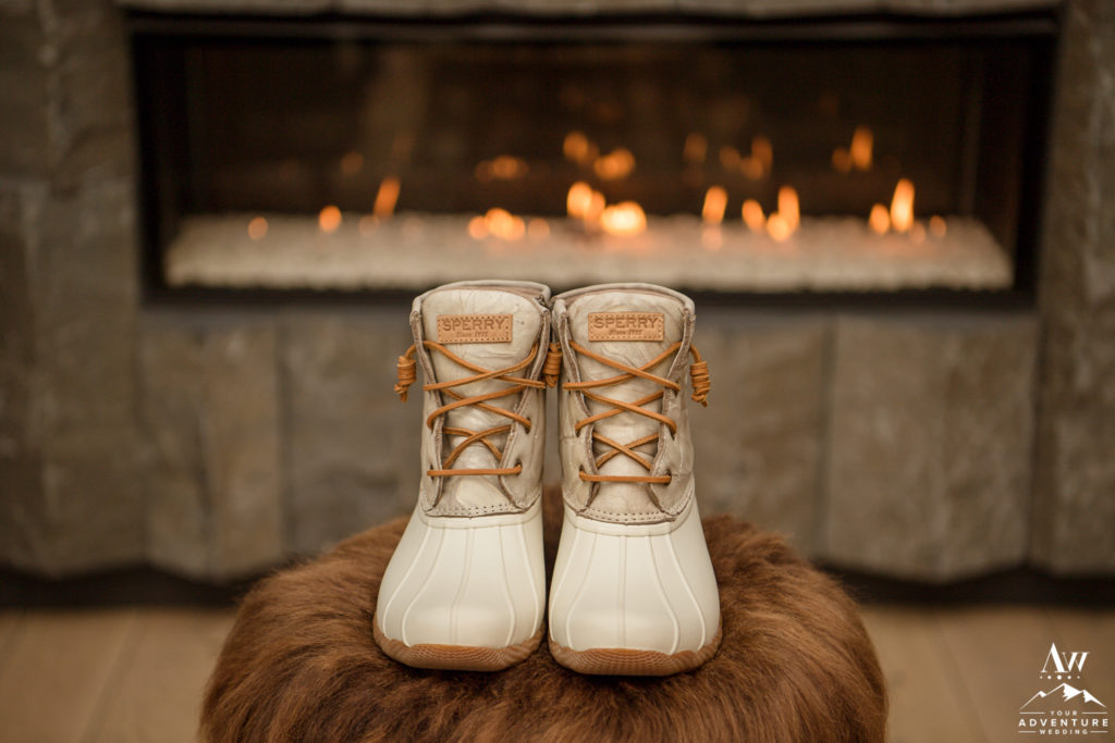 Iceland Wedding Boots Sperry Ivory