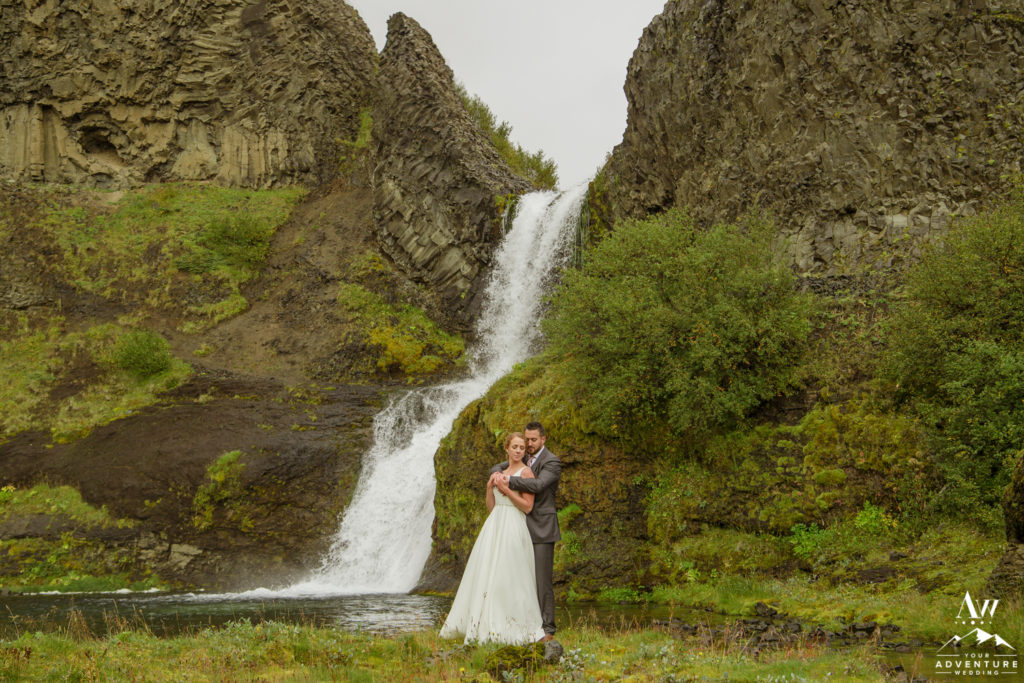 Luxury lodge wedding in September in Iceland