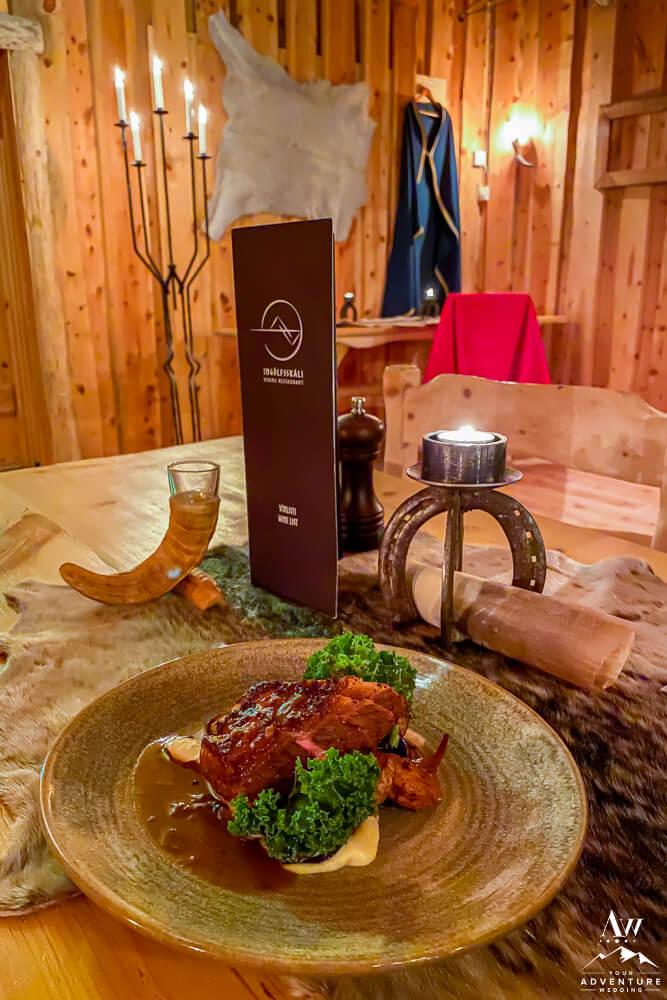 Viking Style Lamb Dinner Iceland