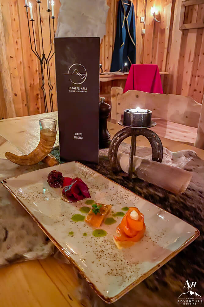 Traditional Viking Dinner Iceland