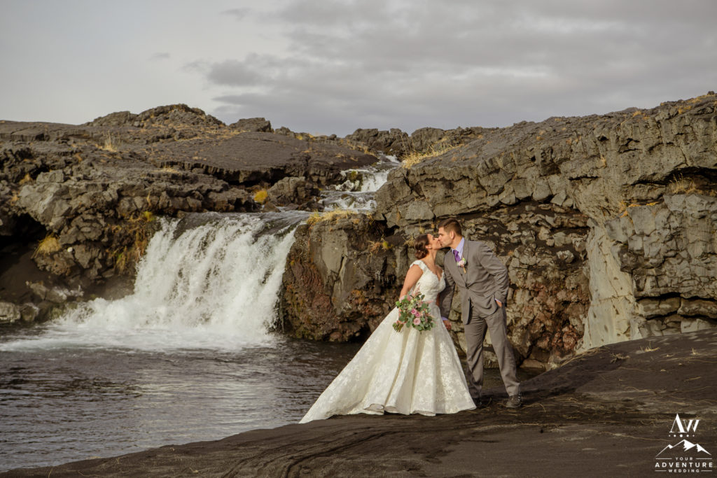 Action Packed Iceland Wedding Black Beach