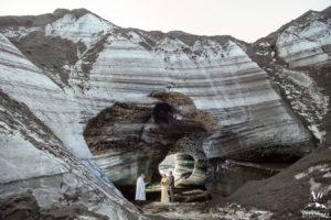 Ice Cave Wedding Ceremony in Iceland