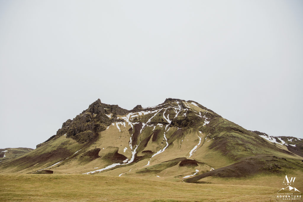 Icelandic Mountain in March