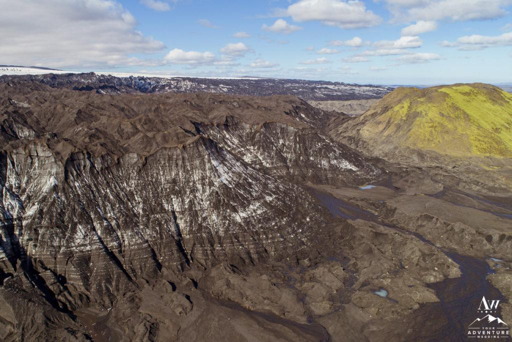 Katla Glacier and Volcano Iceland Landscapes