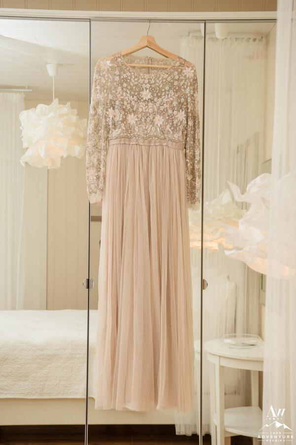 Iceland Elopement Dress