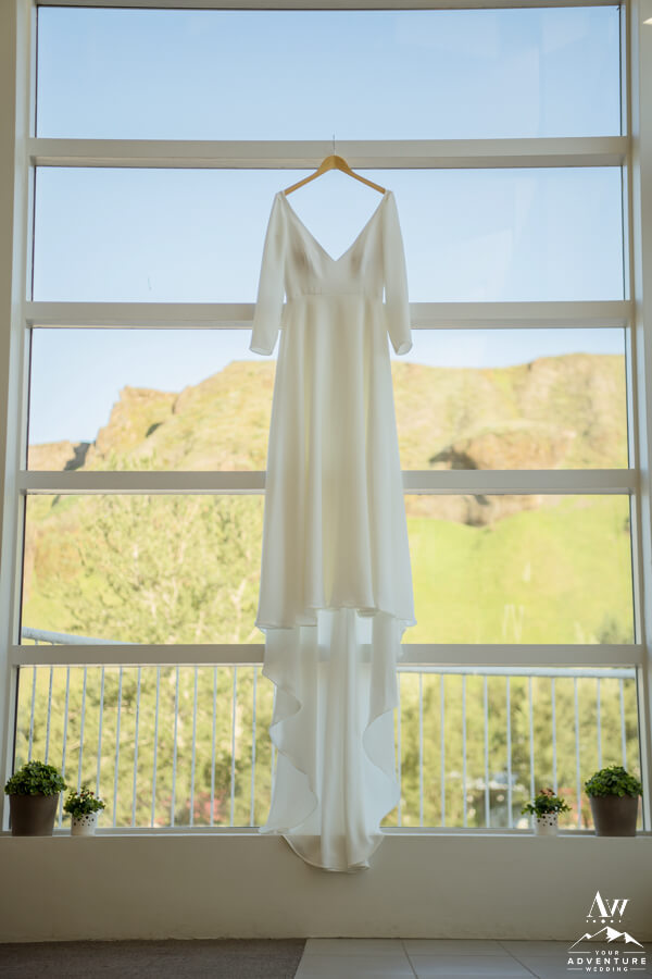 Iceland Adventure Wedding Dress