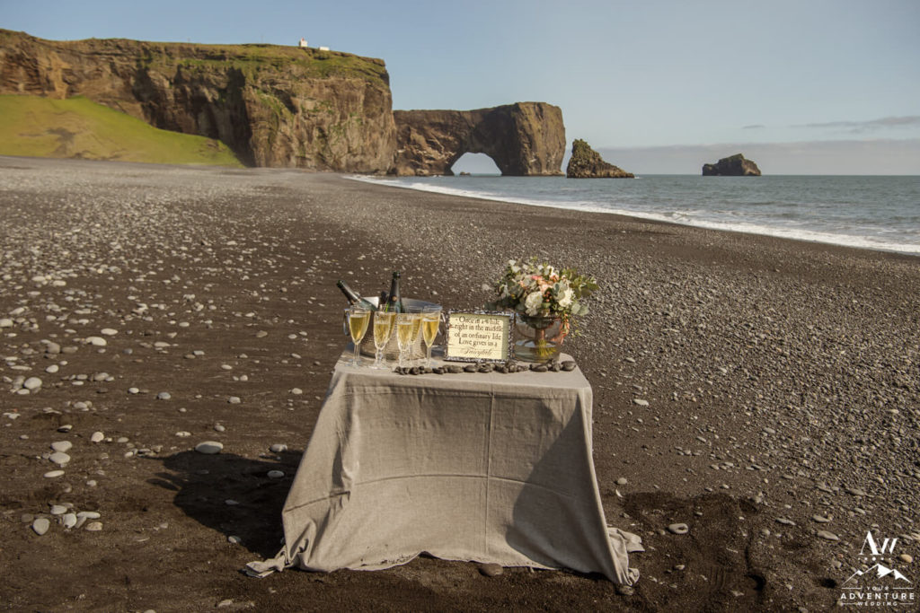 Tiny Luxe Iceland Wedding